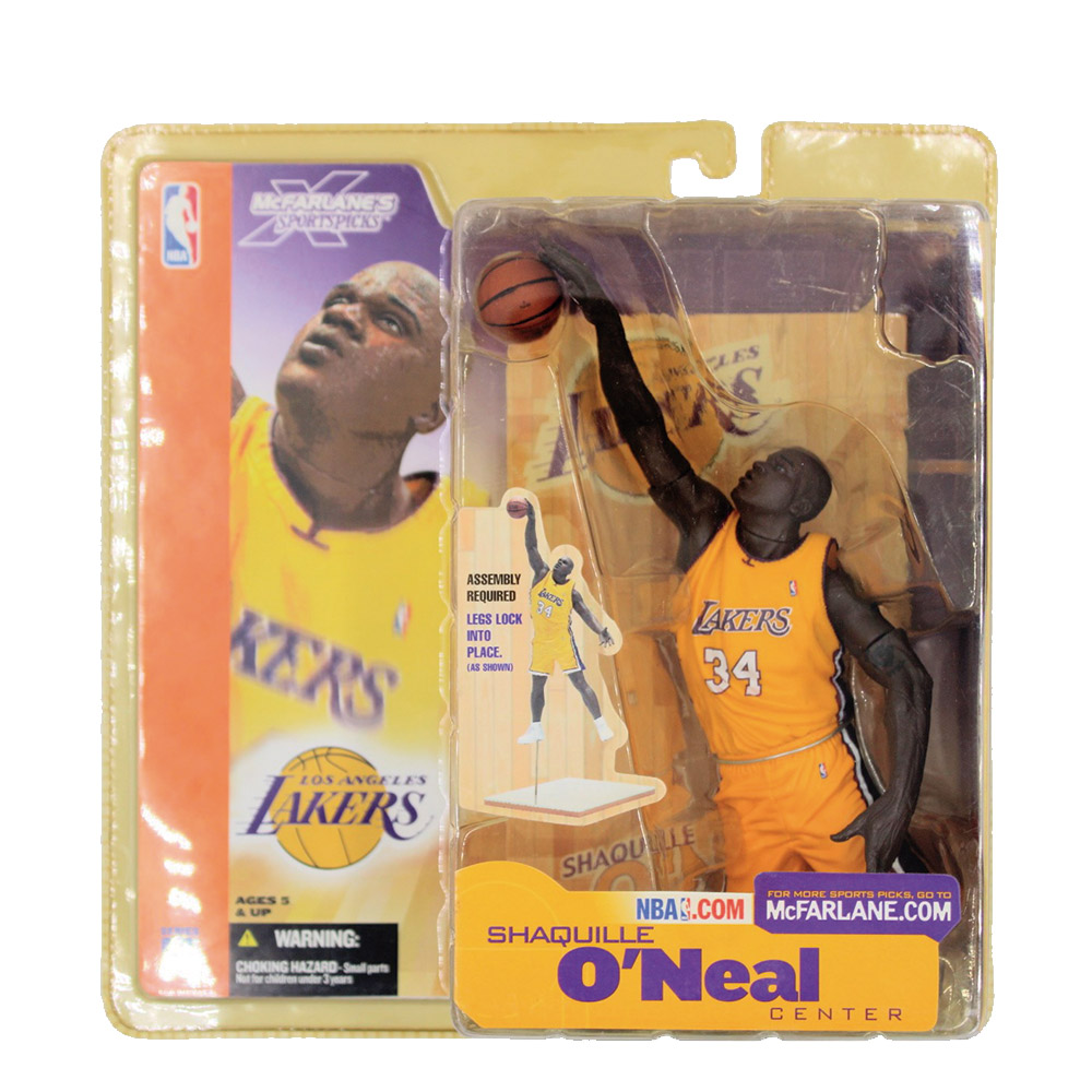 Shaquille O'Neal (Yellow)