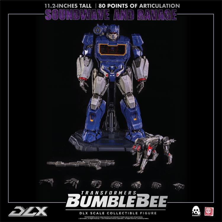 Bumblebee DLX Scale Soundwave and Ravage (PRE-ORDER)