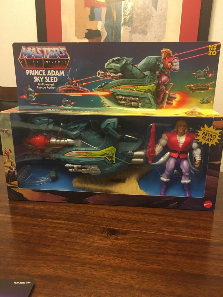 Masters of the Universe PRINCE ADAM SKY SLED
