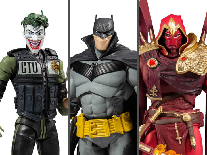 Batman : White Knight DC Multiverse wave 2 Set of 3 Figures