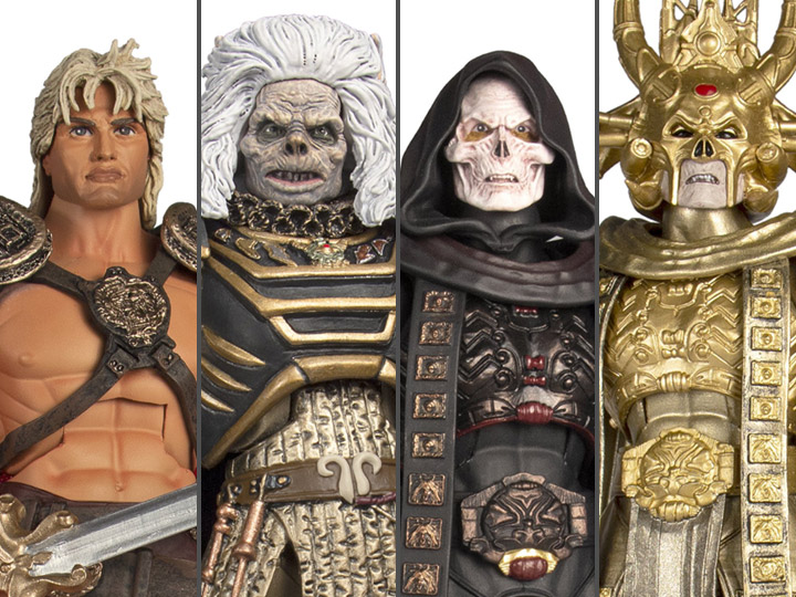 Masters of the Universe William Stout Set 4 Figures